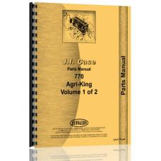Case 770 Tractor Parts Manual