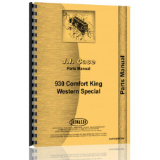 Case 941 Tractor Parts Manual (SN# 8258382 and Up) (8258382+)