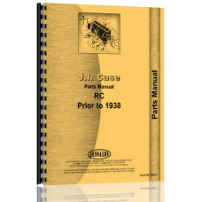 Case RC Tractor Parts Manual (SN# 0-4225000)
