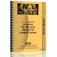 Case Colt 2712 Lawn & Garden Tractor Service Manual