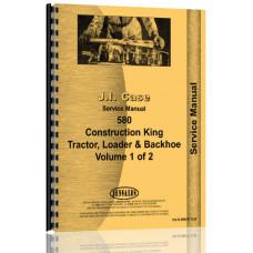Case 580 Tractor Loader Backhoe Service Manual