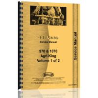 Case 1070 Tractor Service Manual (Condensed Service)