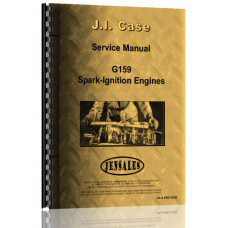 Case  G159 Tractor Service Manual (CA-S-ENG G159)