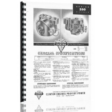 Clinton 200 Series Engine Parts Manual (200)