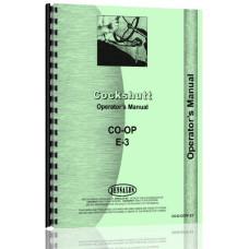 Cockshutt CO-OP E3 Tractor Operators Manual