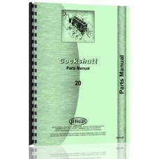 Cockshutt 20 Tractor Parts Manual