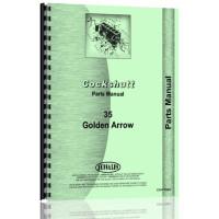 Cockshutt GOLDEN ARROW Tractor Parts Manual