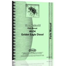 Cockshutt 40-D4 Tractor Parts Manual