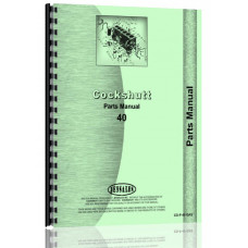 Cockshutt 40 Tractor Parts Manual (Gas)