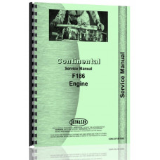 Continental Engines F186 Tractor Service Manual (CON-S-F186 ENG)