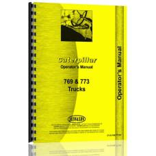 Caterpillar 769 Truck Operators Manual