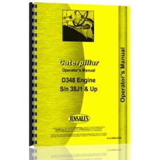 Caterpillar D348 Engine Operators Manual (S/N 38J1 +)