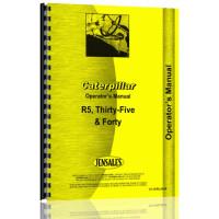 Caterpillar 40 Crawler Operators Manual (SN# 5G1 and Up)