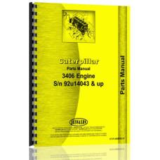Caterpillar 3406 Engine Parts Manual (SN# 92U14043 & Up)