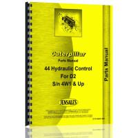 Caterpillar 44 Hydraulic Control Attachment Parts Manual (S/N 4W1 +)