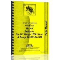 Caterpillar D6 Crawler 6S Bulldozer Attachment Parts Manual (S/N 5R1 +)