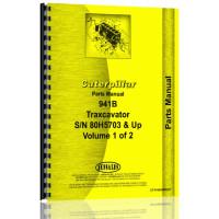 Caterpillar 941B Traxcavator Parts Manual (S/N 80H5703 +) (80H5703+)