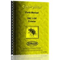 Caterpillar D6C Crawler Parts Manual (S/N 69U613 +) (69U613+)
