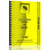 Caterpillar D7 Crawler Parts Manual (SN# 9G1 & Up)