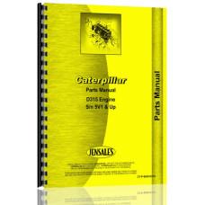 Caterpillar D315 Engine Parts Manual (S/N 5V1 +)
