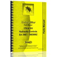 Caterpillar D8 Crawler 183 Hydraulic Control Attachment Parts Manual (SN# 35A1 & Up, 36E1-36E8992) (35A1+)