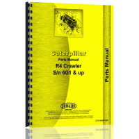Caterpillar R4 Crawler Parts Manual