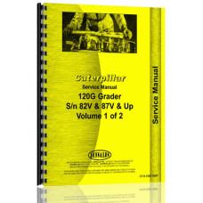 Caterpillar 120G Grader Service Manual (SN# 82V, 87V & Up)