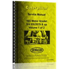 Caterpillar 16G Grader Service Manual (S/N 93U2679 +) (93U2679+)
