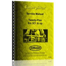 Caterpillar 25 Crawler Service Manual (S/N 3C1 +) (3C1+)