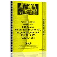 Caterpillar D4D Crawler Service Manual (SN# 49J1 & Up, 59J1 & Up, 60J1 & Up, 61J1 & Up, 65J1 & Up, 66J1 & Up, 69K1 & Up, 7R1 & Up, 74U1 & Up, 82J1 & Up, 83J1 & Up, 97F1 & Up)