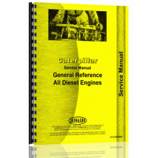 Caterpillar Engine General Reference for Early Crawlers Service Manual (SN# 6E1 & Up)
