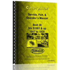 Caterpillar Best 30 Tracklayer Operators Manual (SN# S1001 & Up)