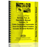 Caterpillar D4 Crawler Operators Manual (SN# 4G)