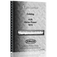 Cushman Sales Catalog Catalog (1915)