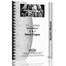 Cummins JS-6 Engine Service Manual