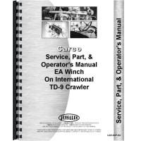 International Harvester TD9 Crawler Cargo Winch Attachment Service Manual (Attachment)