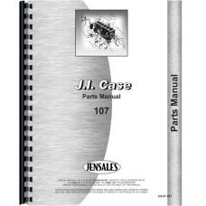 Case 107 Lawn & Garden Tractor Parts Manual