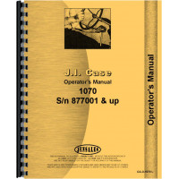 Case 1070 Tractor Operators Manual (Various Ser #s)