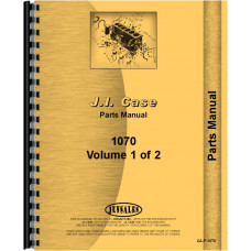 Case 1070 Tractor Parts Manual (SN# 8675001 and UP)