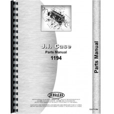 Case 1194 Tractor Parts Manual