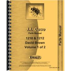 Case 1210 Tractor Parts Manual (David Brown, Includes 2 Volumes)