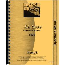 Case 1570 Tractor Operators Manual