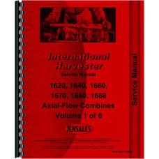 Case 1620 Combine Service Manual