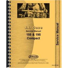 Case 195 Lawn & Garden Tractor Service Manual