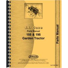 Case 195 Lawn & Garden Tractor Parts Manual