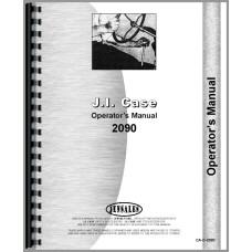 Case 2090 Tractor Operators Manual