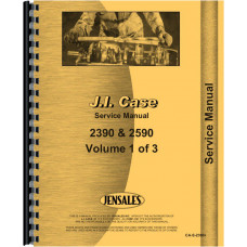 Case 2590 Tractor Service Manual (Includes 3 Volumes)