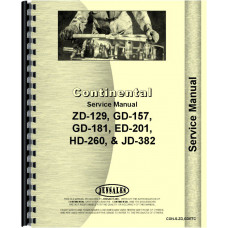 Continental Engines ED-208 Engine Service Manual