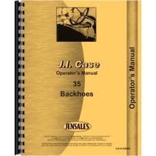Case 35 Backhoe Attachment Operators Manual (Attachment)