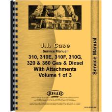Case 310F Crawler Service Manual